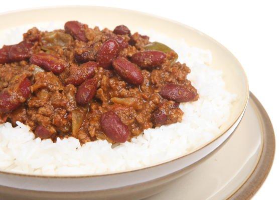 Feijoada brasileira con arroz