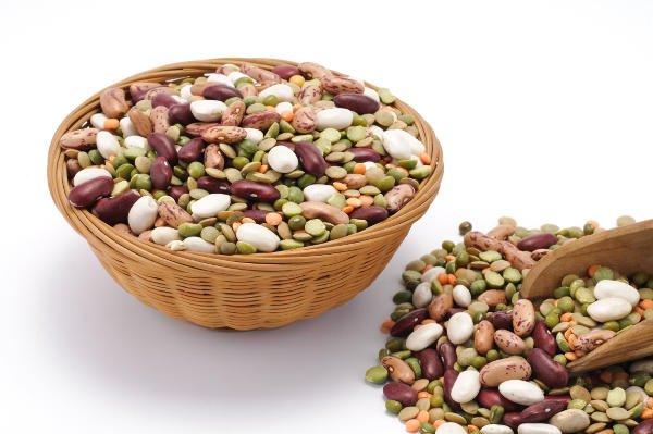 Las legumbres son ricas en manganeso,