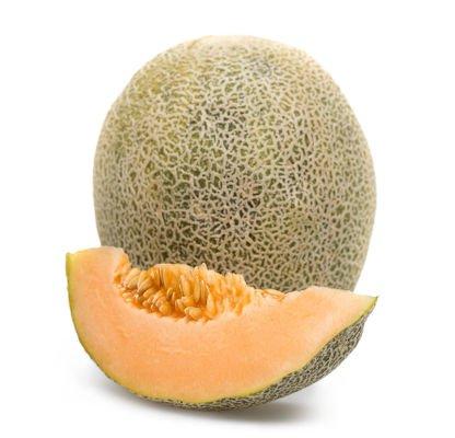 El melón de pulpa naranja aporta betacarotenos