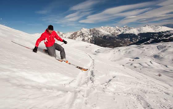 La nieve refleja el 80% de las radiaciones ultravioletas