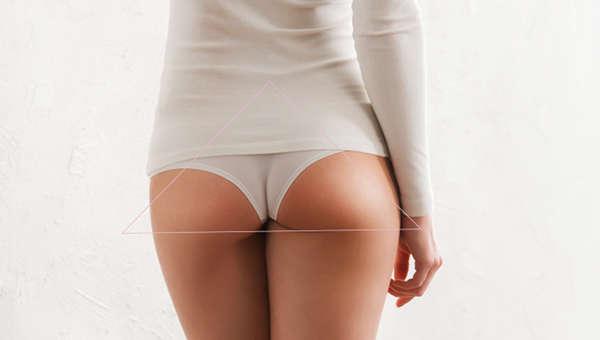 En la edad fértil de la mujer, la zona troncantérea forma un triángulo que se invierte en la menopausia