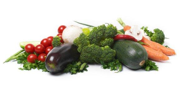 En la segunda etapa podemos tomar verduras en las comidas