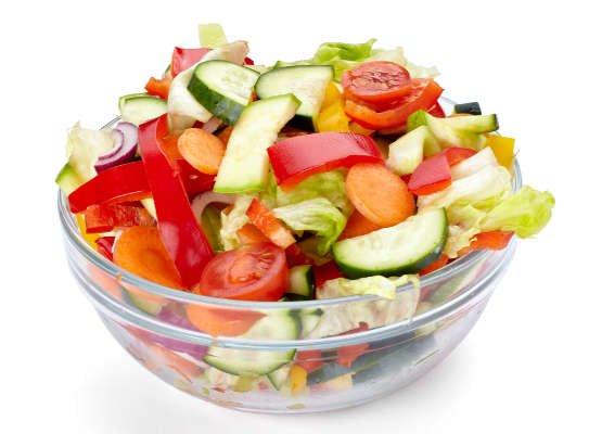 Las frutas y las verduras contienen fibra soluble
