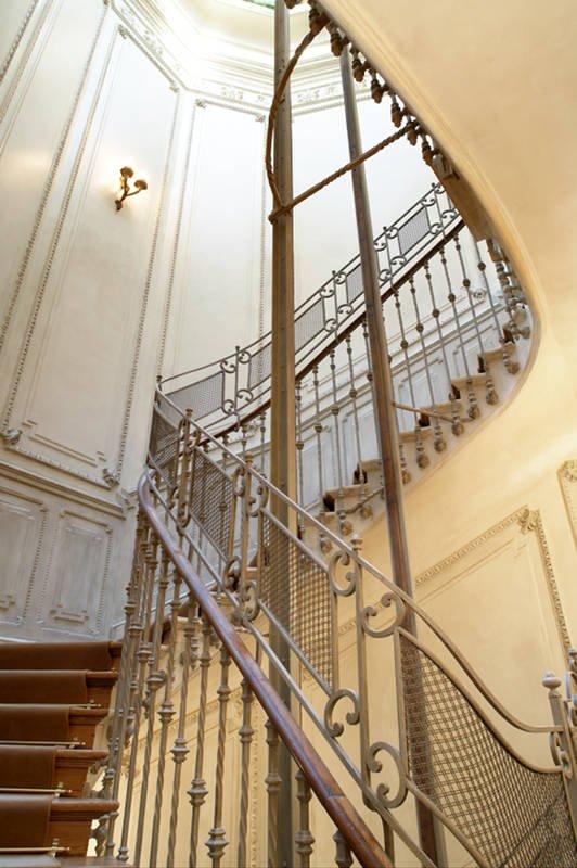 Escalera helicoidal del Palacio de Nerva