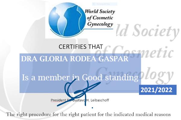 Dra. Rodea, miembro de la WSCG