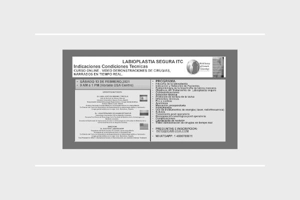 curso internacional de Labioplastia