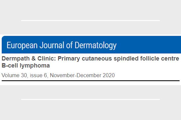 Publicación en European Journal of Dermatology