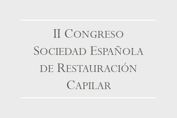 II Congreso Restauración Capilar